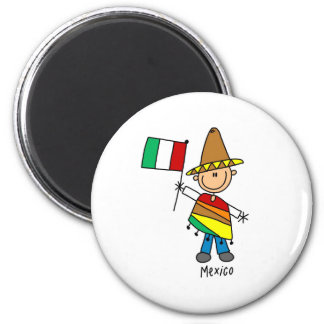 Mexiko-Magnet Runder Magnet 5,1 Cm