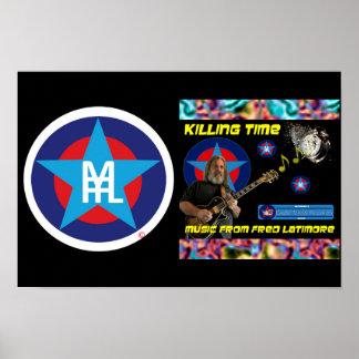 MFFL - Tötungs-Zeit - Plakat