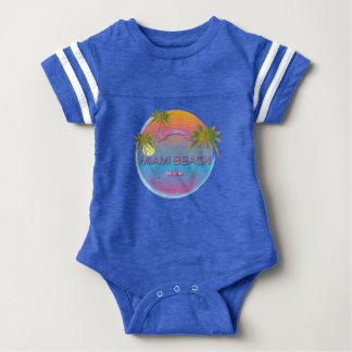 Miami Beach Florida Est.1870 Babybody