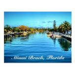 Miami Beach-Florida-Postkarte
