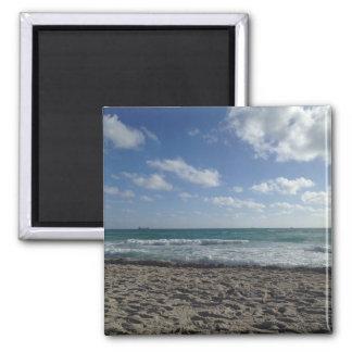 Miami Beach-Magnet Quadratischer Magnet