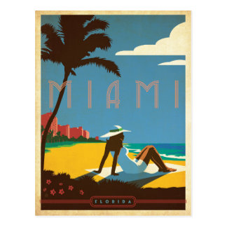 Miami, FL Postkarte