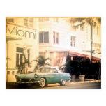 Miami-Süden Strand Postkarte