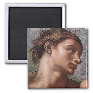 Michelangelo-Schaffung von Adam Quadratischer Magnet