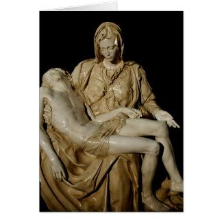 Michelangelos Pietà Mitteilungskarte
