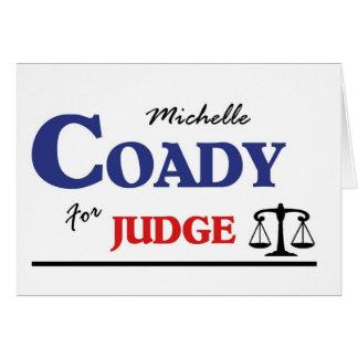 Michelle Coady für Richter Karte