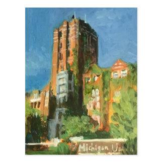 Michigan-Gewerkschaft Ann Arbor Postkarte