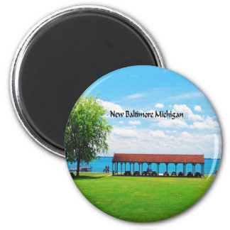 Michigan Runder Magnet 5,7 Cm