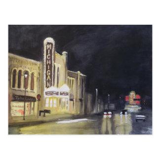 Michigan-Theater Ann Arbor Postkarte