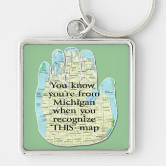 Michiganschlüsselketten Schlüsselanhänger