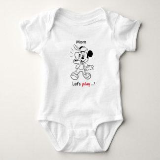 Micky Reihe Baby Strampler