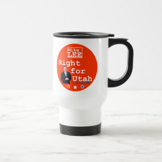 Mike LEE Utah-Senats-Tasse 2010 Edelstahl Thermotasse