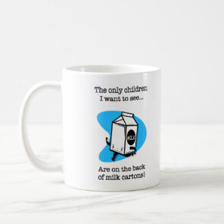 Milch-Karton-Kinder Tasse