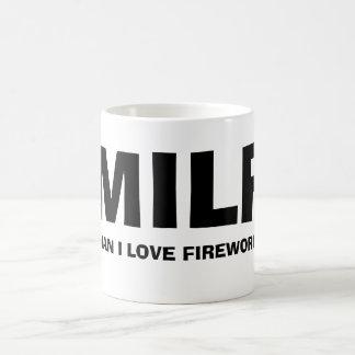 MILF - MAN I LOVE FIREWORKS KAFFEETASSE