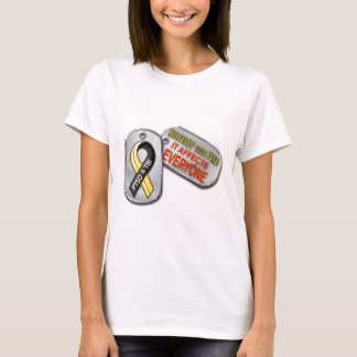 Militär mit PTSD Logo T-Shirt