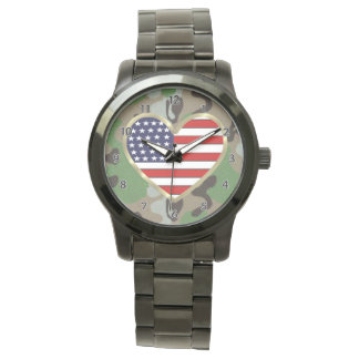 Militärfamilien-Liebe Armbanduhr