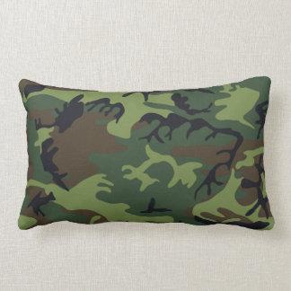 Militärische grüne Tarnung Lendenkissen