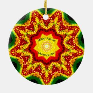 MILLER-FAMILIE ~ personalisiertes Keramik Ornament