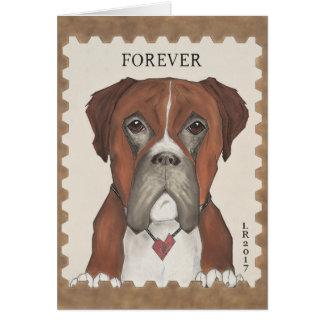 Milo, der Boxer Karte