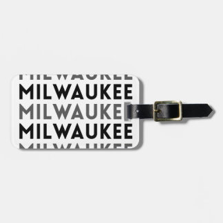 Milwaukee-Fliesen-Entwurf Kofferanhänger