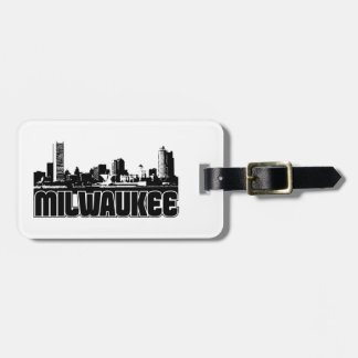 Milwaukee-Skyline Koffer Anhänger