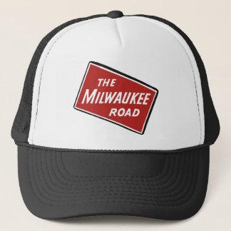 Milwaukee-Straßen-Bahnzeichen 2 Truckerkappe