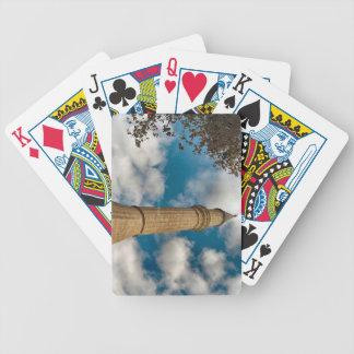 Minarett an der blauen Moschee Bicycle Spielkarten