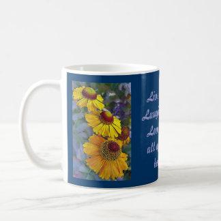 Miniaturgänseblümchen-Mama-Tasse Tasse