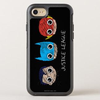 Minigerechtigkeits-Liga geht Skizze voran OtterBox Symmetry iPhone 8/7 Hülle