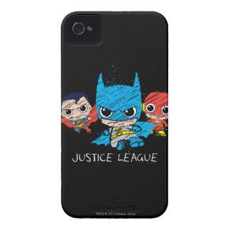 Minigerechtigkeits-Liga-Skizze iPhone 4 Case-Mate Hülle