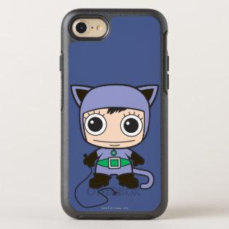 Minikatzen-Frau OtterBox Symmetry iPhone 8/7 Hülle