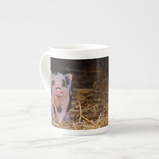 Minischwein Porzellan-Tassen