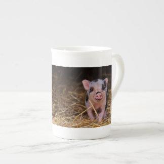 Minischwein Prozellantasse