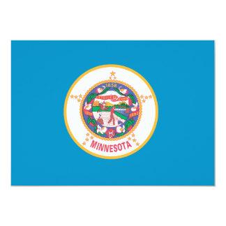 MINNESOTA-Flagge - Karte