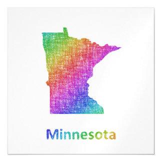Minnesota Magnetische Karte
