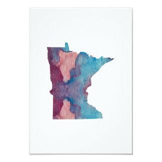 Minnesota-Silhouette Karte