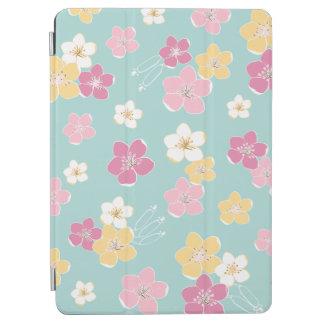 Mint pink exotic hawaii flowers ipad zu cover iPad air hülle
