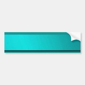 Minze, Blau, einfarbiger glänzender Aufkleberraum Autoaufkleber