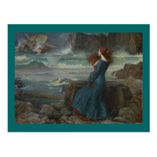 Miranda (der Sturm) Postkarte