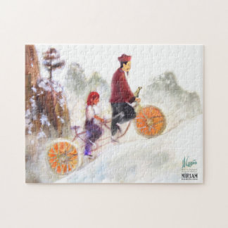 Miriam - Tandem cycle with Liu Xiang Puzzle