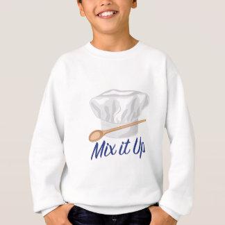 Mischen Sie es oben Sweatshirt