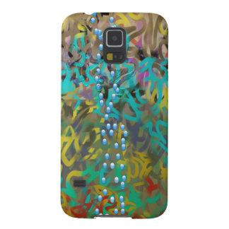 Mischteigwaren-abstrakter Entwurf Galaxy S5 Hülle