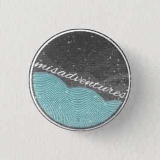 """Missgeschick-"" Knopf Runder Button 2,5 Cm"