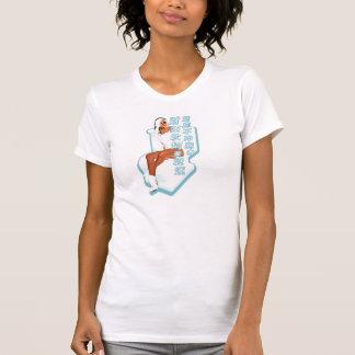 Missgeschick, wenn Sie nicht T-Stück spülen T-Shirt