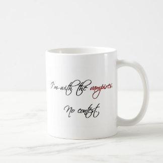 Mit den Vampiren Kaffeetasse