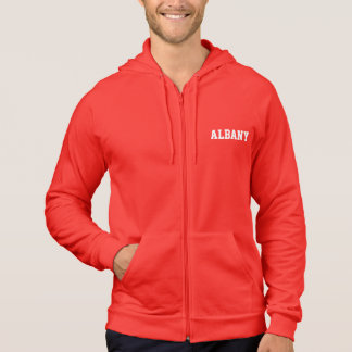 Mit Kapuze Fleece-Sweatshirt ALBANIENS Hoodie
