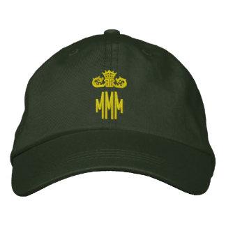 Mit Monogramm Initialen mit Krone Bestickte Baseballkappe