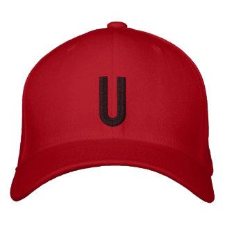 Mit Monogramm justierbare Kappe U