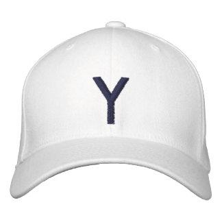 Mit Monogramm justierbare Kappe Y