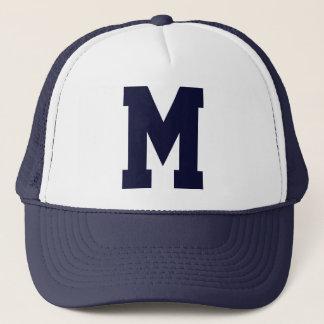 Mit Monogramm Superstar-Marine-Blau Truckerkappe